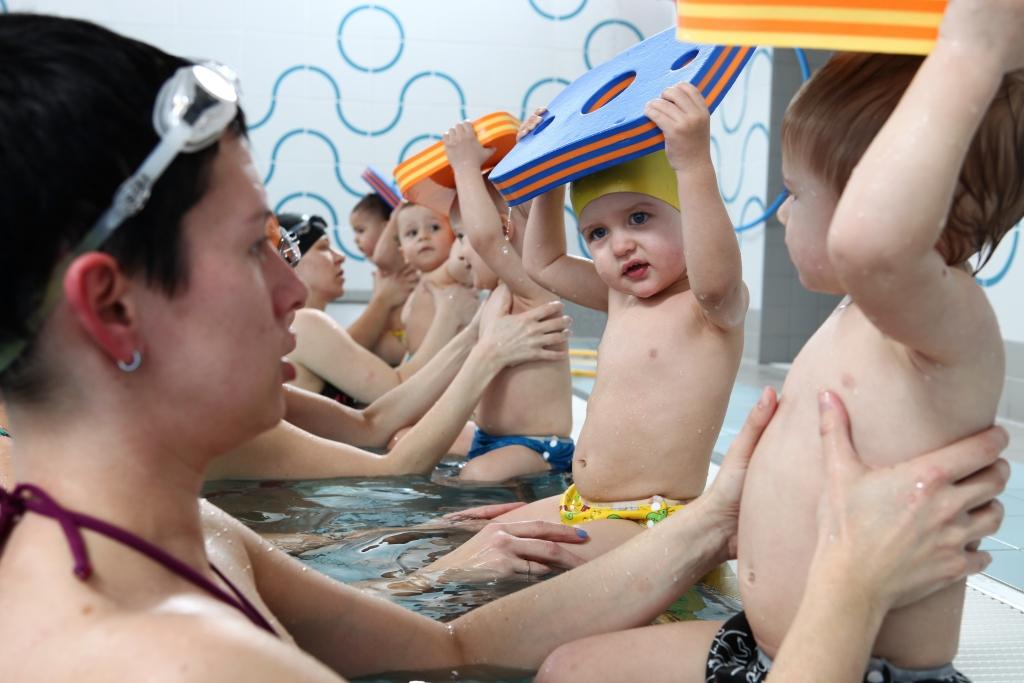 Plavání dětí Zlín